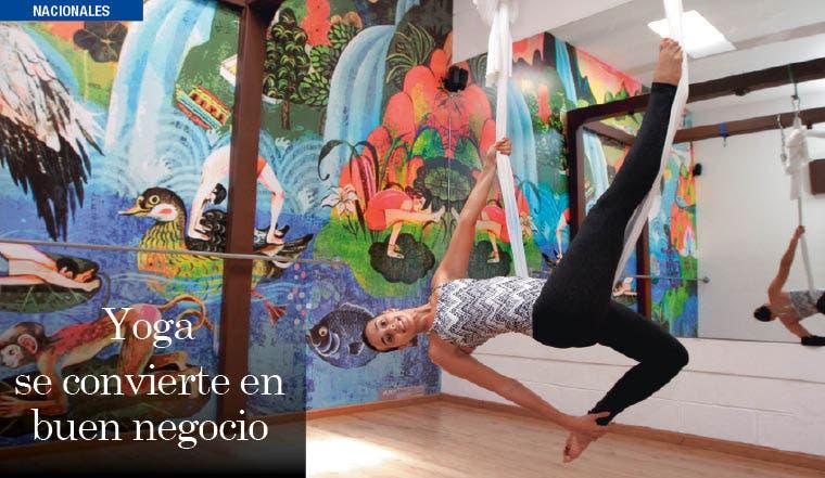 Yoga se convierte en buen negocio