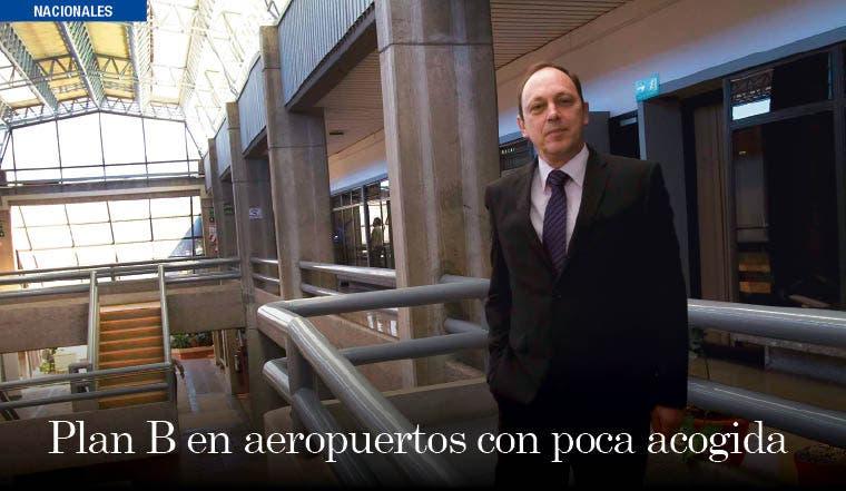 Plan B en aeropuertos con poca acogida