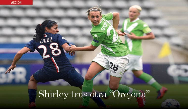 "Shirley tras otra ""Orejona"""