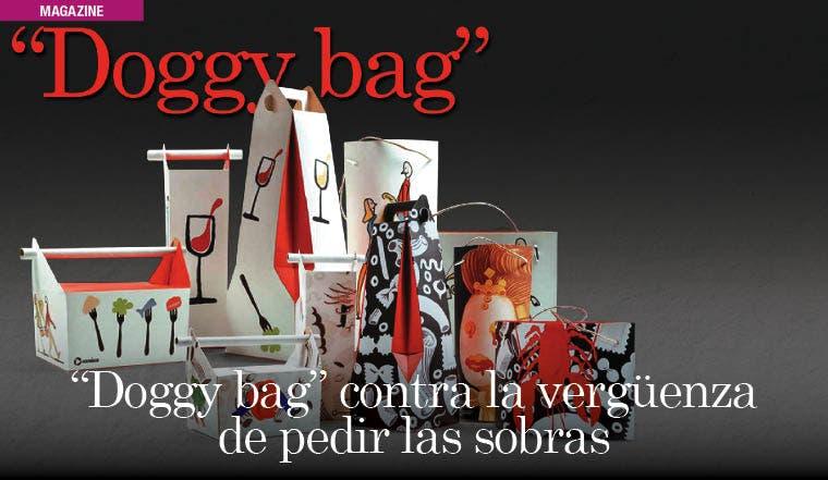 """""""Doggy bag"""" contra la vergüenza de pedir las sobras"""