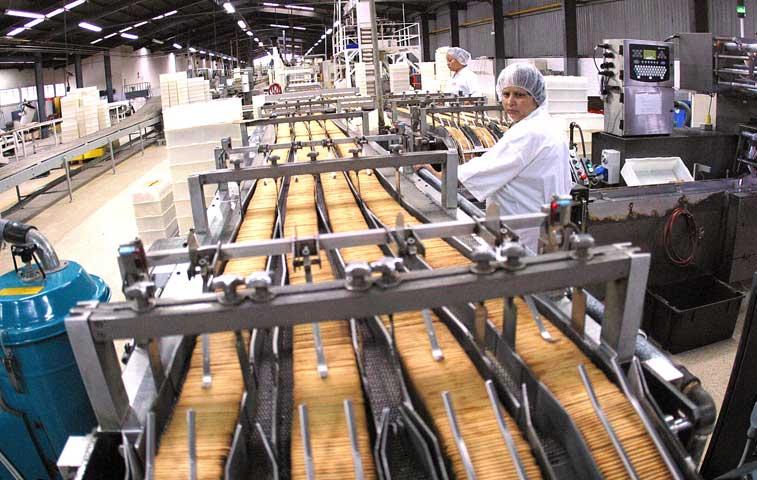 Caída en productos agrícolas y e industria alimentaria golpea exportaciones
