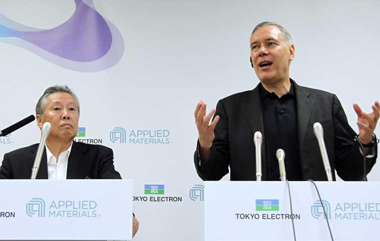 Applied Materials y Tokyo Electron cancelan su plan de fusión