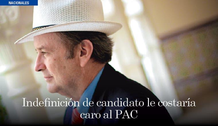 Indefinición de candidato le costaría caro al PAC