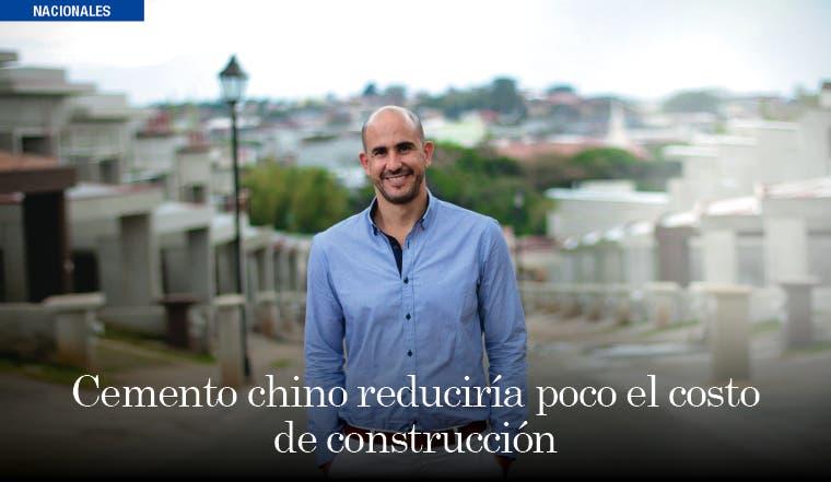 Cemento chino reduciría poco el costo de construcción