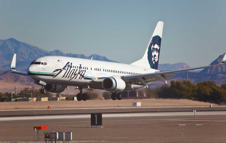 Alaska Airlines operará ocho vuelos desde Los Ángeles hacia Costa Rica