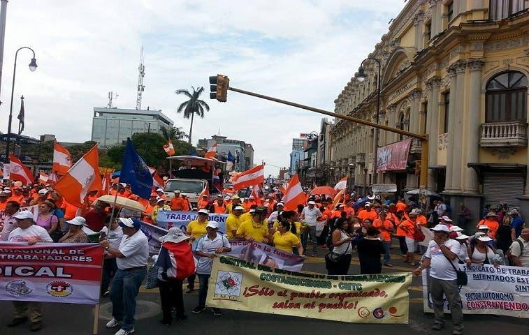 Sindicalistas: 1° de mayo contra el neoliberalismo