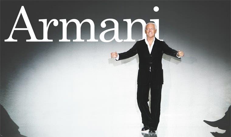 Armani celebró 40 años de carrera