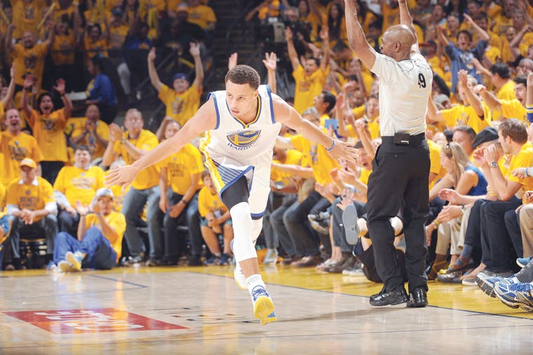 Curry, MVP de la temporada