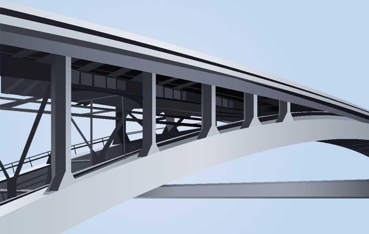 Arreglos en puentes hacia Moín terminarán a finales de mayo