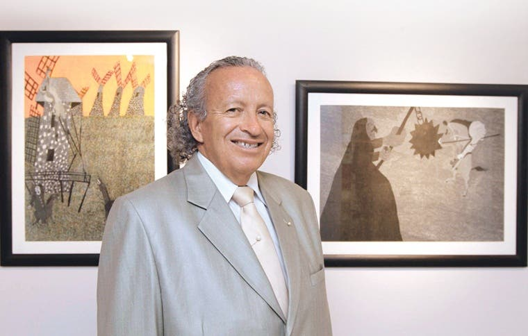 "La capital acoge un ""Yo Quijote"""