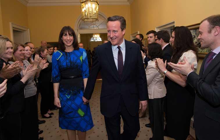 Cameron iniciará segundo mandato en Reino Unido