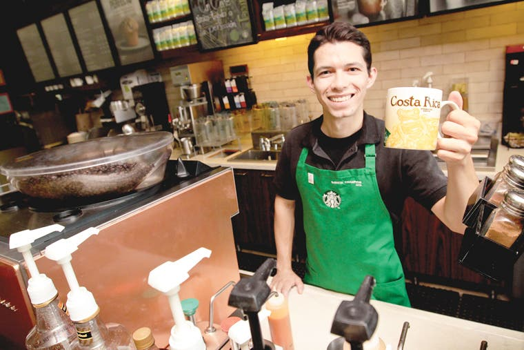 Competencia premió al mejor barista