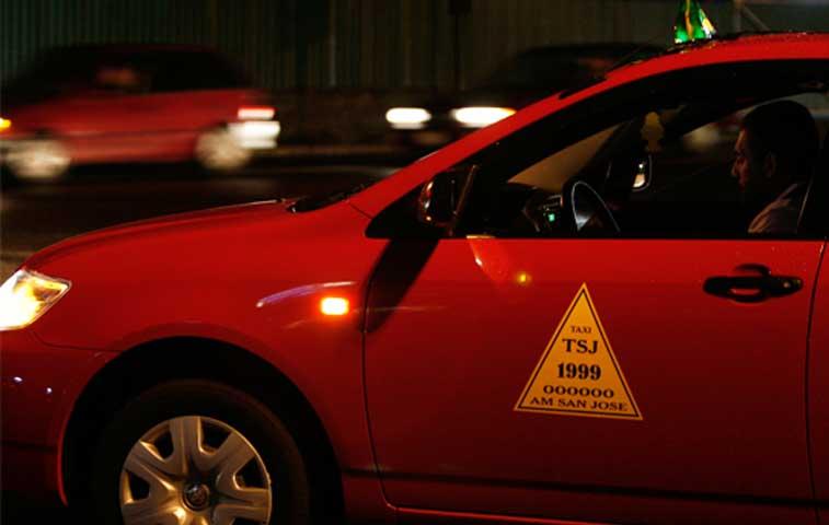 Tarifas de taxis tendrán una rebaja de 4%