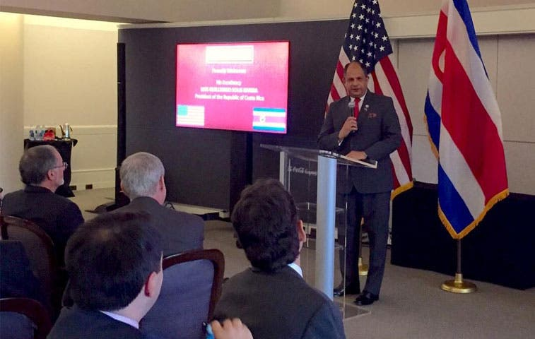 Presidente solicitó a Georgia Tech colaboración para adhesión a OCDE