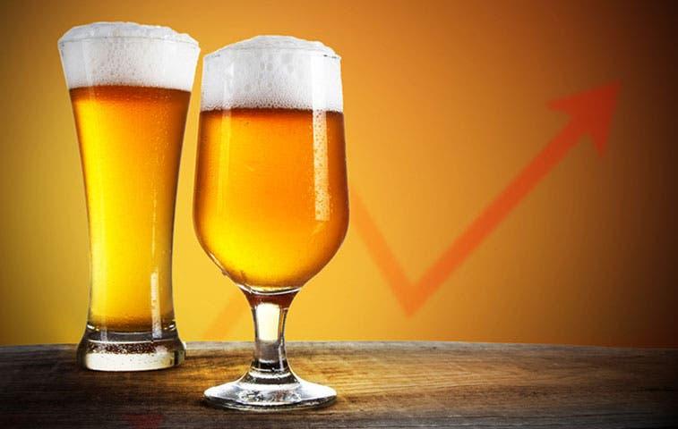 Aumenta importación de bebidas alcohólicas