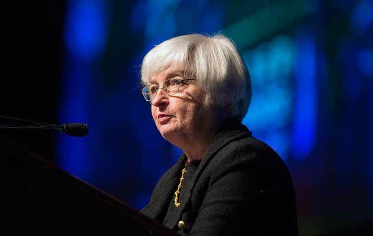 Reacción del mercado inquieta a Yellen