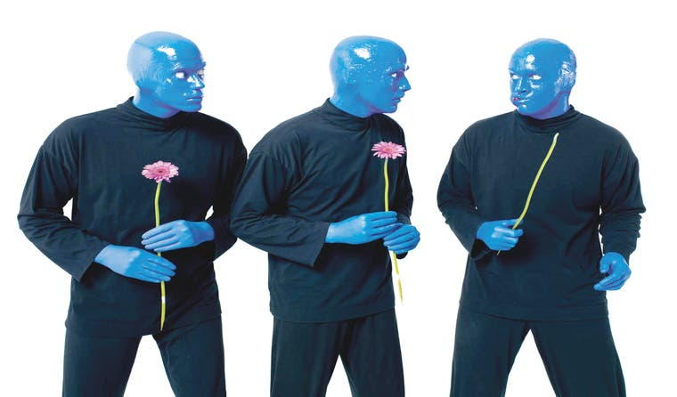 Entradas para ver a Blue Man Group salen mañana