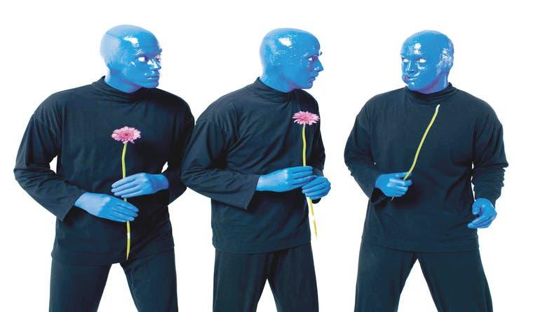 Entradas para ver a Blue Man Group salen mañana