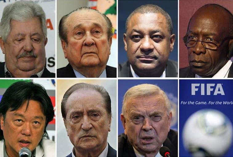 47 cargos contra 14 acusados por supuestos delitos en la FIFA