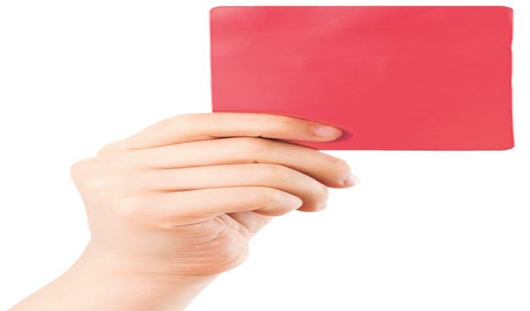 Tarjeta roja a la FIFA