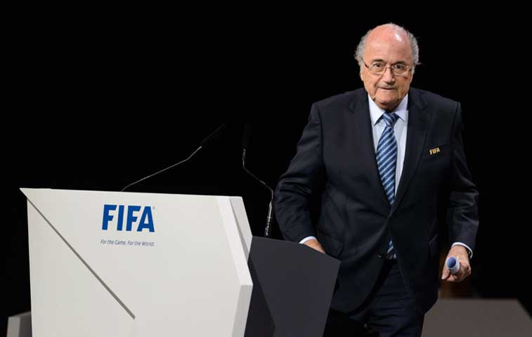 Príncipe se retira y Blatter amarra quinto mandato en FIFA