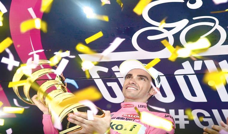 Contador, campeón del Giro