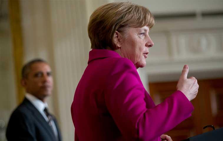 Merkel y Obama tendrán reunión bilateral durante el G7