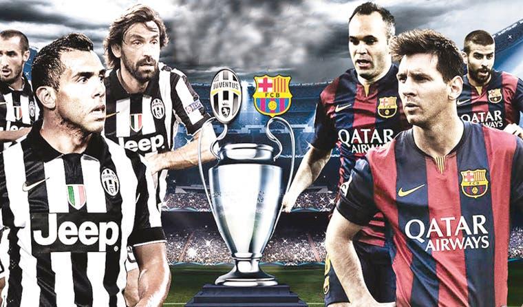 Barcelona y Juventus se citan con la historia en Berlín