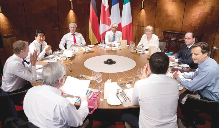Ausencia de Putin marca inicio de G7
