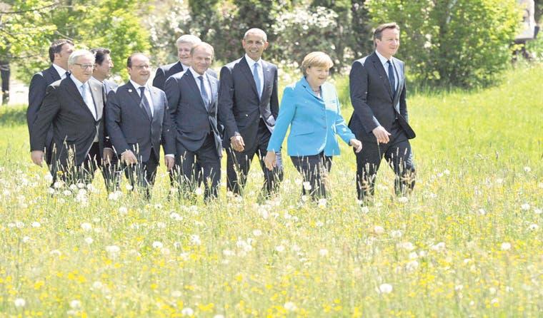 G7 implacable con el cambio climático y Putin