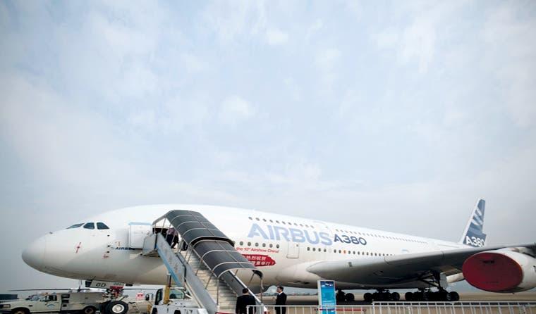 Los A380 plantean una amenaza para impulsar las ventas de Airbus