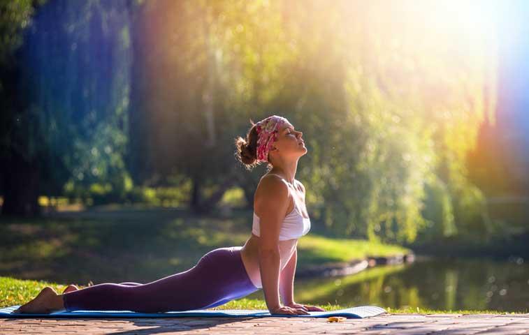 Yoga gratis en todo el país