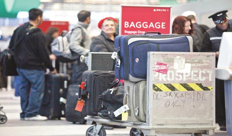 Aerolíneas quieren reducir el tamaño del equipaje de mano