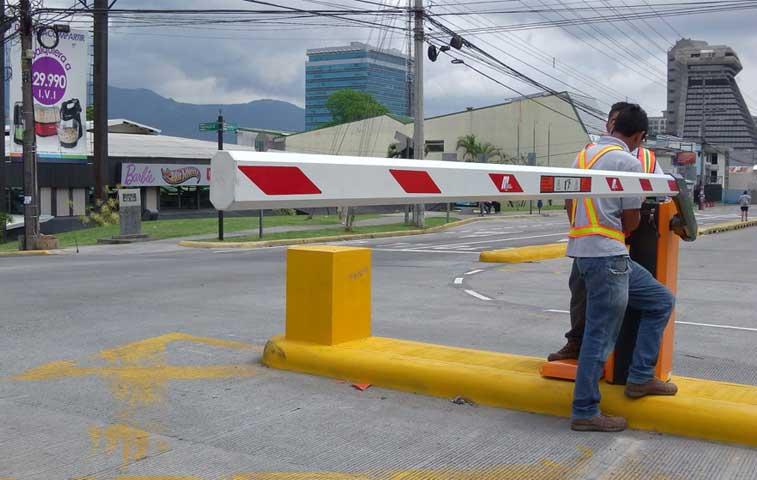 Paso por cruce de tren diagonal al Gimnasio Nacional ya se habilitó