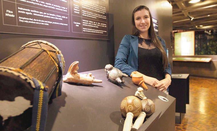 Muestra recuerda la riqueza musical precolombina