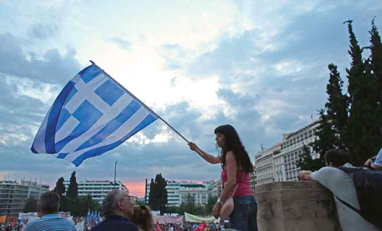 Empresas europeas temen que salida de Grecia entorpezca la recuperación