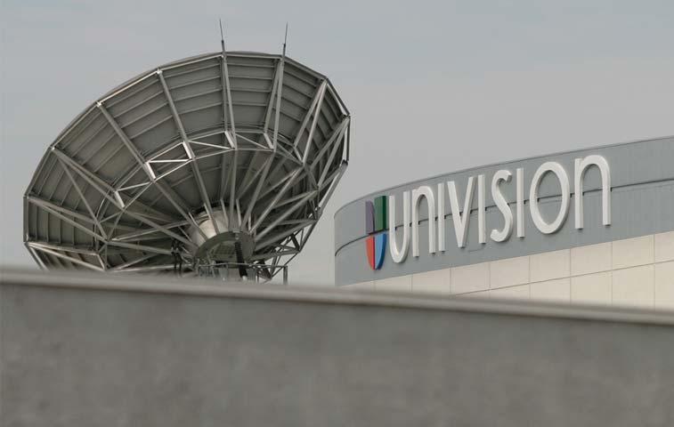 Univision no trabajará con proyectos asociados a Trump