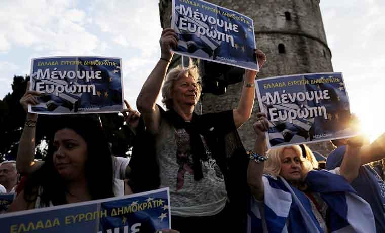 Planes opuestos complican negociación con Grecia