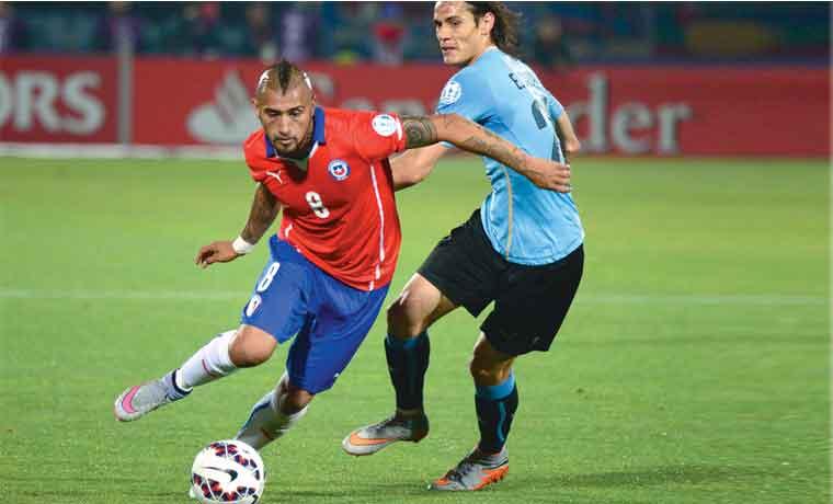 Chile hierve en semifinales
