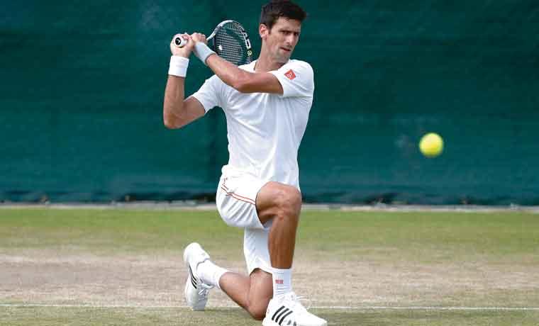 Espinas en ruta de Djokovic