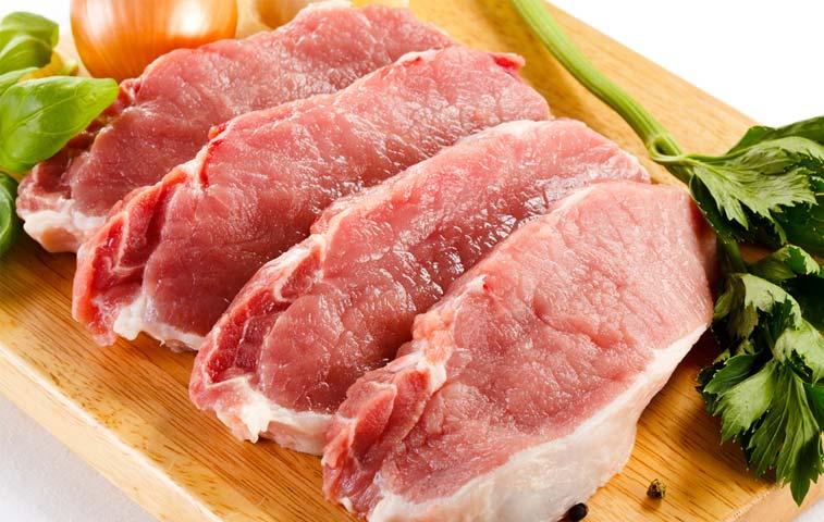 Contenedor con 20 mil kilos de carne de cerdo se exportará a Guatemala