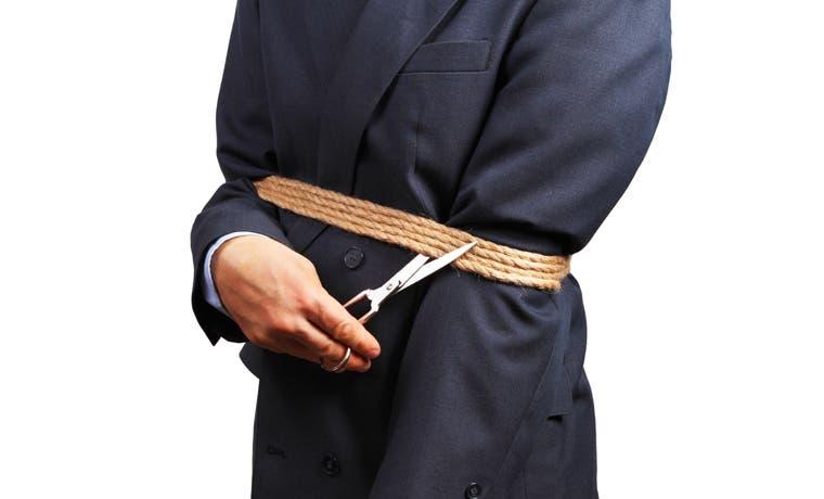 Cortar la cuerda: Una historia sobre salir de la zona de confort