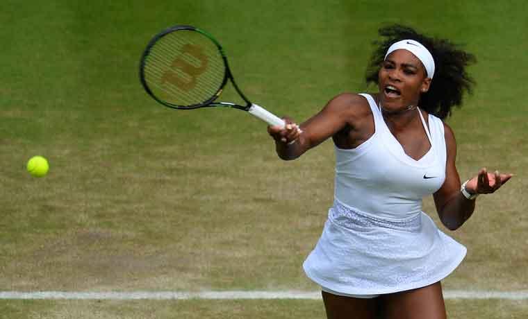 Serena va por Sharapova