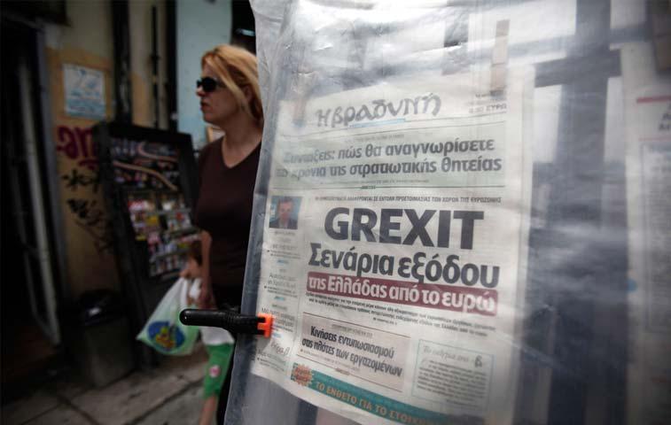 """El """"Grexit"""" sería la peor opción"""