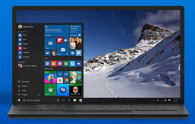Windows 10 no vendrá pre-instalado el día de su lanzamiento