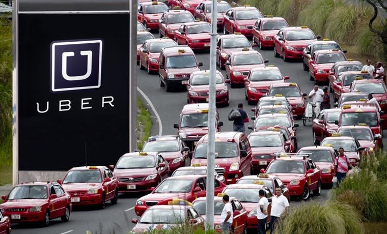 Uber encendería conflicto en las calles