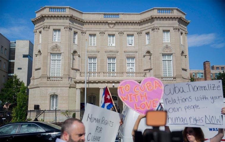 Cuba abre su embajada en Washington