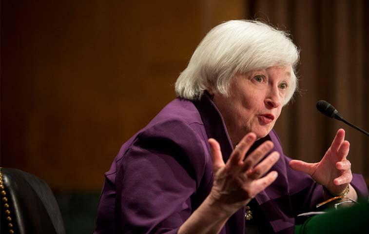 Siete razones de Yellen para aumentar las tasas en 2015