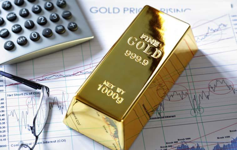 Oro afecta a los inversores en materias primas