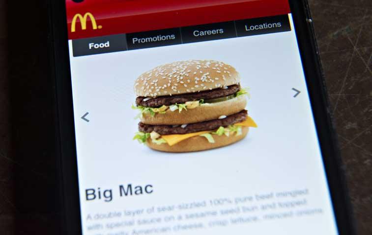 McDonald's apuesta por nueva aplicación para subir ventas en EE.UU.